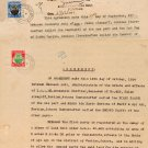 (I.B) Malaya States Revenue : Johore Duty $2 and 50c (2 documents)