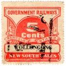 (I.B) Australia - NSW Railways Parcel 5c (Wollongong)