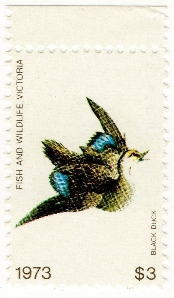 (I.B) Australia - Victoria Revenue : Hunting Tax $3 (1973)