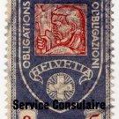 (I.B) Switzerland Revenue : Consular Service 3Fr