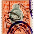 (I.B) Orange River Colony Revenue : Duty 10/-