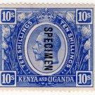 (I.B) KUT Postal : Kenya & Uganda 10/-