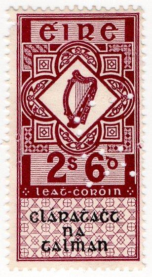 (I.B) Ireland Revenue : Land Registry 2/6d