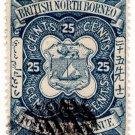 (I.B) British North Borneo Postal : British 25c