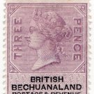 (I.B) British Bechuanaland Revenue : Duty 3d
