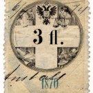 (I.B) Austria/Hungary Revenue : Stempelmarke 3fl
