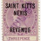 (I.B) St Kitts & Nevis Revenue : Duty 3d