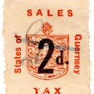 (I.B) Guernsey Revenue : Sales Tax 2d (German Occupation)