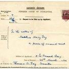 (I.B) George V Revenue : Judicature Ireland 4d OP (complete document)
