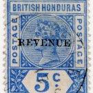 (I.B) British Honduras Revenue : Duty 5c