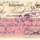 (I.B) Ireland Revenue : Cheque Duty 2d (Ballyconnell 1942)
