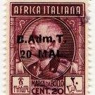 (I.B) BOIC (Tripolitania) Revenue : Duty 20 Mal OP