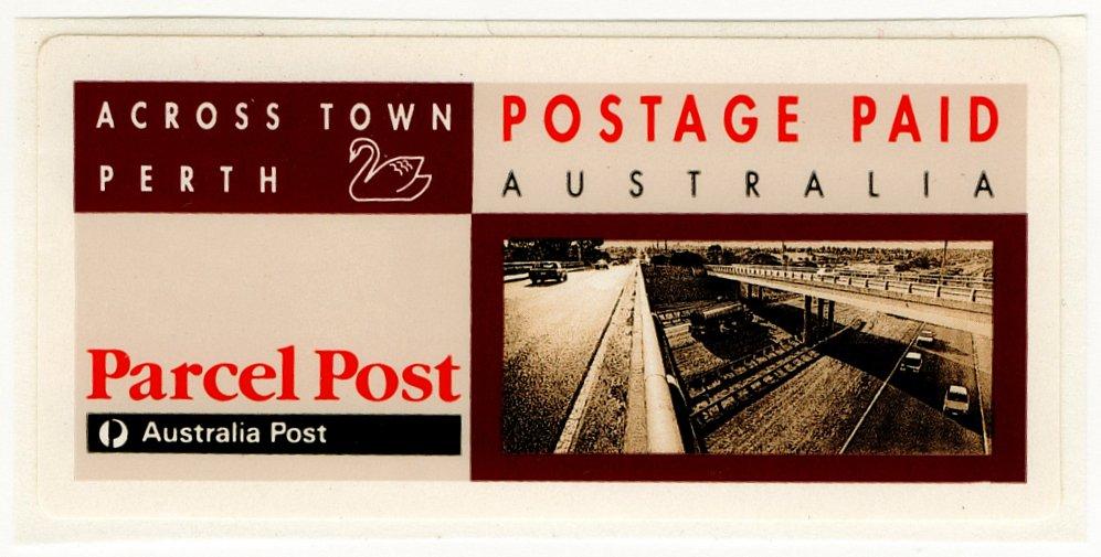 (I.B) Australia Postal : Parcel Post Paid (Perth)