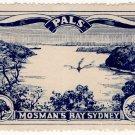 (I.B) Australia Cinderella : PALS Label (Mosman's Bay Sydney)