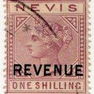 (I.B) Nevis Revenue : Duty Stamp 1/-