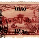 (I.B) Iraq Postal : British Occupation Overprint 12a