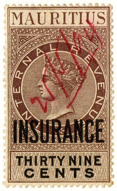 (I.B) Mauritius Revenue : Insurance 39c