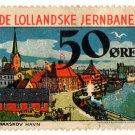 (I.B) Denmark Railway : De Lollandske Jernbaner 50 Øre