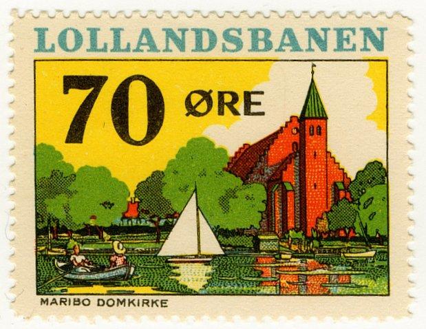 (I.B) Denmark Railway : Lollandesbanen 70 �re