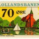 (I.B) Denmark Railway : Lollandesbanen 70 Øre