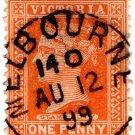 (I.B) Australia - Victoria Revenue : Stamp Duty 1d (Melbourne)