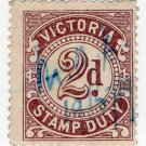 (I.B) Australia - Victoria Revenue : Stamp Duty 2d