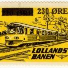 (I.B) Denmark Railway : Lollandesbanen 230 on 220 Øre