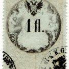 (I.B) Austria/Hungary Revenue : Stempelmarke 1 fl