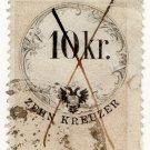 (I.B) Austria/Hungary Revenue : Stempelmarke 10 Kr