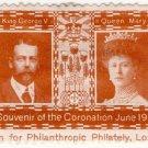 (I.B) Cinderella : George V Coronation 1911