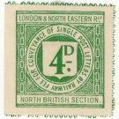 (I.B) London & North Eastern Railway (North British) Letter 4d