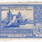 (I.B) Cinderella : Waterlow & Sons Ltd - Souvenir Stamp (Pool of London)