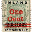 (I.B) British Guiana Revenue : Inland Revenue 1c on $2