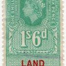 (I.B) Elizabeth II Revenue : Land Registry 1/6d