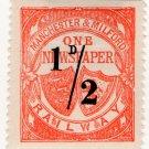 (I.B) Manchester & Milford Railway : Newspaper ½d