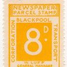 (I.B) Blackpool Corporation Railway : Newspaper Parcel 8d