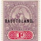 (I.B) Basutoland Revenue : Duty 1d