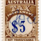 (I.B) Australia Revenue : Tax Instalment $5