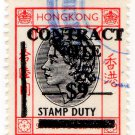(I.B) Hong Kong Revenue : Contract Note $9 on $16 OP