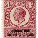 (I.B) George V Revenue : Judicature (Northern Ireland) 4d
