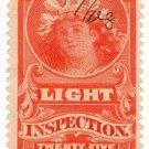 (I.B) Canada Revenue : Electric Light Inspection 25c