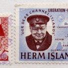 (I.B) Cinderella Collection : Herm Island Churchill Commemoratives