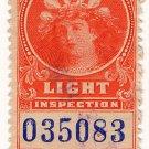 (I.B) Canada Revenue : Electric Light Inspection $2