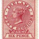 (I.B) QV Revenue : Ireland Petty Sessions 6d (1880)