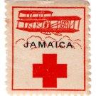 (I.B) Jamaica Cinderella : Red Cross Stamp (1915)