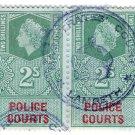 (I.B) Elizabeth II Revenue : Police Courts 4/-