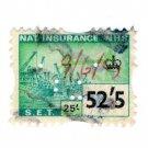 (I.B) Elizabeth II Revenue : National Insurance 52/5d