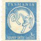 (I.B) Australia - Tasmania Revenue : Stamp Duty 3c