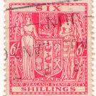 (I.B) New Zealand Revenue : Stamp Duty 6/- (postal)