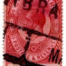 (I.B) Gibraltar Postal : 2/- Red-Brown & Black (Parcel Post)